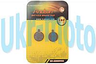 Колодки тормозные велосипедные (дисковые) 18.6х4х24.3   ARTEK   (mod:SBP-1013)