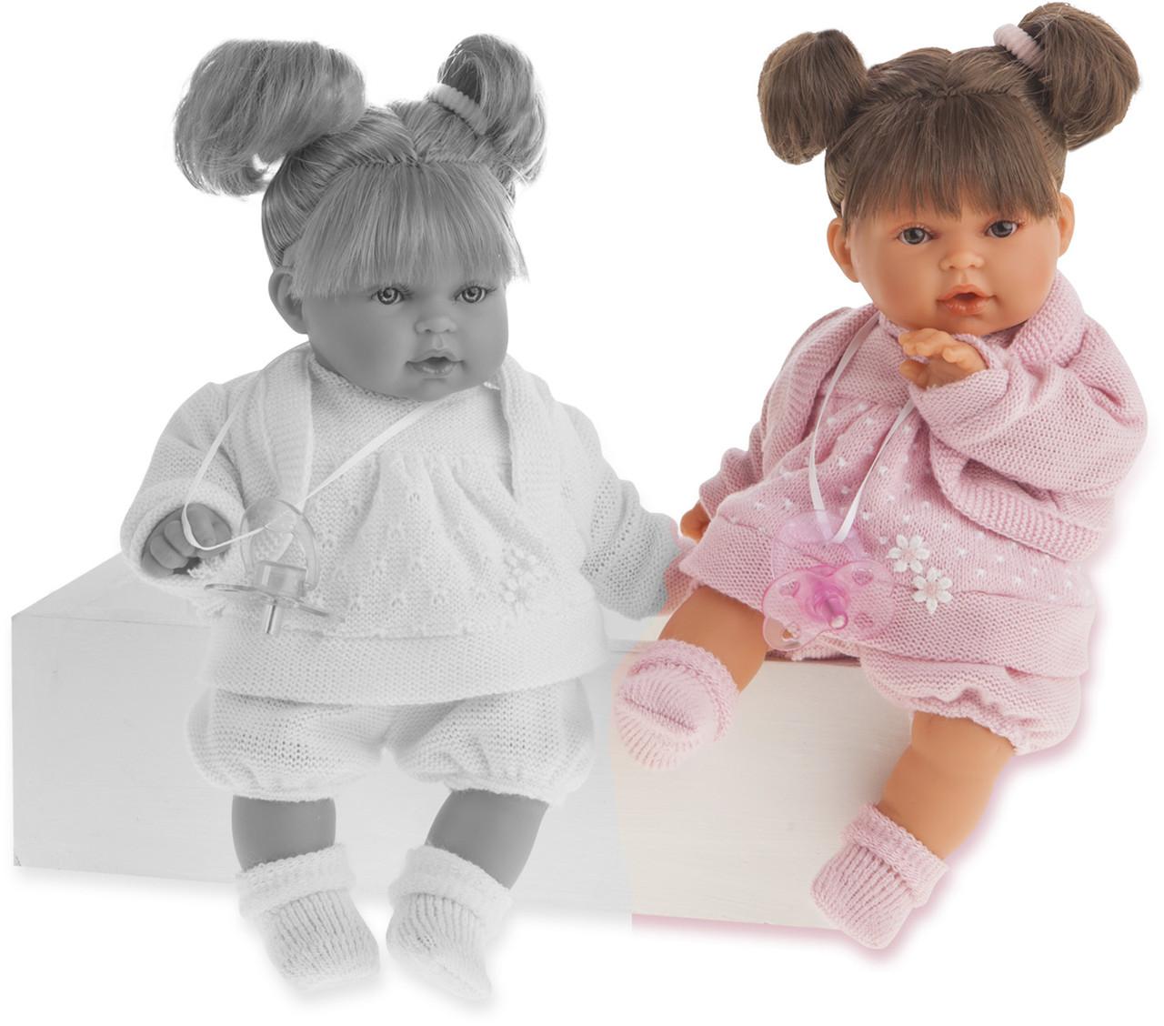 Antonio Juan, кукла Kika Dos Coletas brunette, 27 см