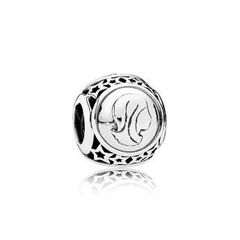 Шарм Дева знак зодиака из серебра 925 пробы