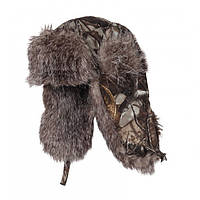 Шапка-ушанка зимняя на меху Norfin Hunting Staidness ветроустойчивая и дышащая для охоты и рыбалки