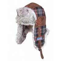 Шапка-ушанка для подростков зимняя на меху Norfin Junior Ushanka Junior ветроустойчивая и дышащая для охоты