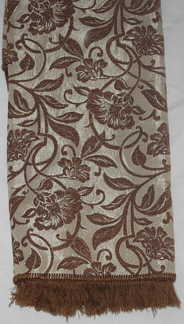 Покрывала полутороспальные на диван Орхидея коричневый, фото 2
