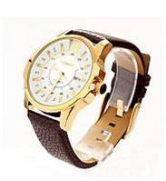 Часы мужские кварцевые Curren Chronometer 8123 gold-white