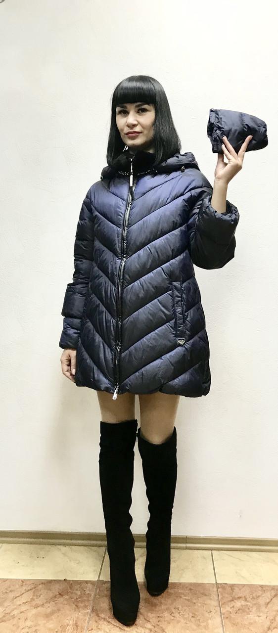 eda8fbf5f849 Пуховик ComStil куртка с капюшоном. - Интернет-магазин