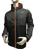 Мужская ветровка Nike полу батал, весенние куртки Nike, спортивные куртки Найк
