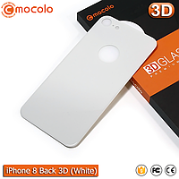 Защитное стекло на заднюю панель Mocolo iPhone 8 (White) 3D
