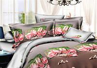 Двуспальный комплект постельного беля роскошь роз