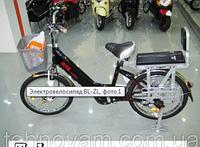 Электровелосипед  BL-SL (белый и черный)