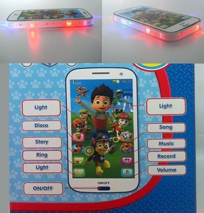Детский интерактивный телефон Paw Patrol Щенячий Патруль