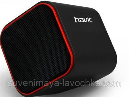Акустические колонки Havit HV-SK473 USB. Black+red