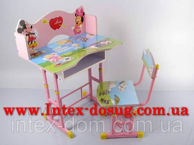 """Дитячий столик трансформер"""" Барбі """" XY-7-1киев"""