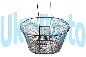"Корзина велосипедная навесная передняя (металл)   (mod:3)   ""YKX"""