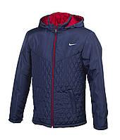 Мужская стеганая куртка Nike  копия, куртка Найк
