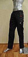 Мужские спортивные штаны Nike  копия из плащевки на х/б подкладке  копия, штаны Найк