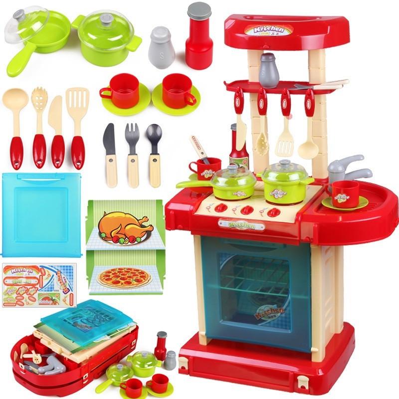 """Игровой набор """"Кухня в чемодане""""   008-58А"""