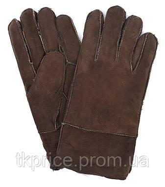 Мужские зимние перчатки на цигейке, фото 2