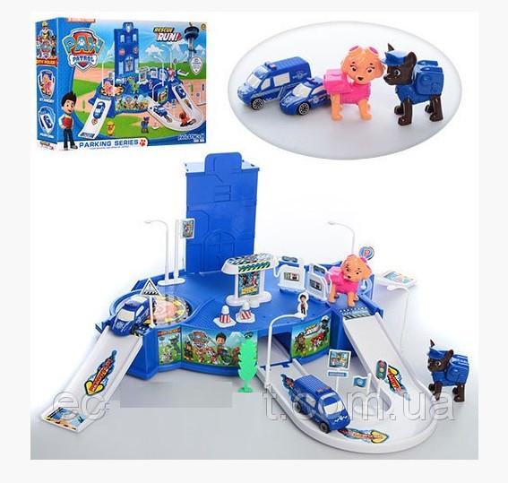 Игровой набор Паркинг гараж Щенячий патруль
