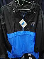Мужской анорак Reebok копия, осенние куртки, спортивные куртки