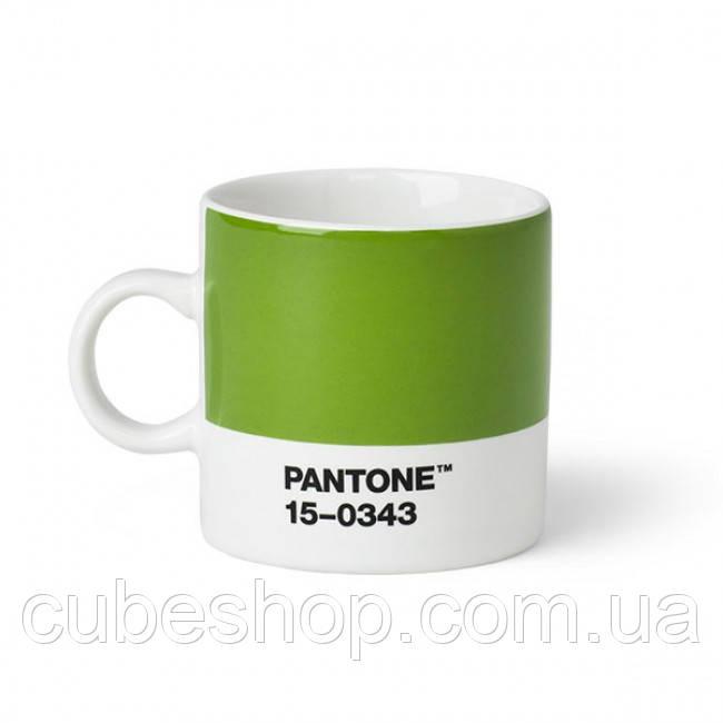 Чашка эспрессо PANTONE Living Green 15-0343 (120 мл)