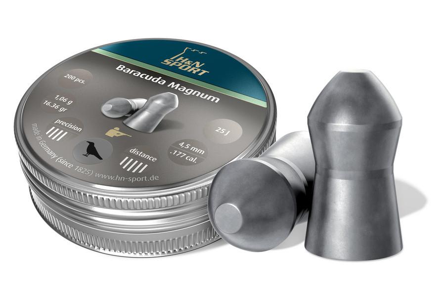 Пули пневматические H&N Baracuda Magnum 1,06 гр (200 шт)