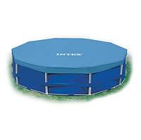 Тент защитный для каркасного бассейна диаметром 305 см Intex 28030 HN