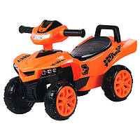 Машинка-каталка Baby Mix M 3502-7, оранжевый