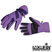 Рукавички мембранні жіночі Norfin Women WINDSTOP VIOLET (фліс / утеплювач / PL) р.L (705066-L)