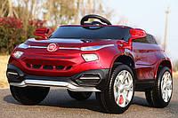 Детский электромобиль M 3292 EBLRS-3 с кожаным сиденьем, автопокраска, красный***