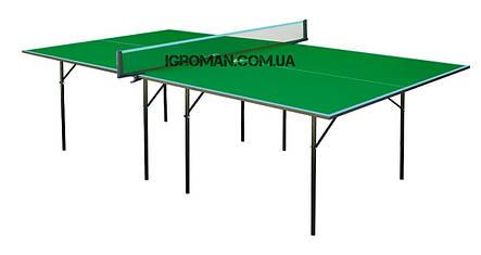 Теннисный стол Gk-1/Gp-1, настольный теннис для закрытых помещений, ракетки и мячики в подарок!, фото 2