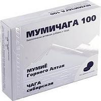 Мумичага Арго на основе чаги и мумие  для печени, желудка, заживление, раны, ожоги, язва желудка