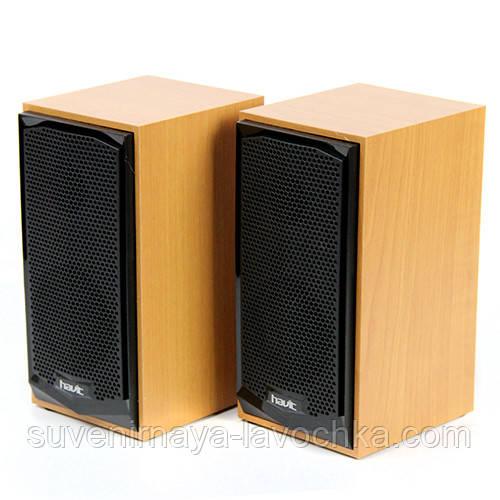 Акустические колонки Havit HV-SK518 USB. Wood