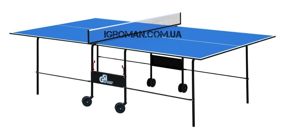 Теннисный стол Gk-2/Gp-2 для закрытых помещений, ракетки и мячики в подарок!