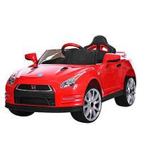 Детский электромобиль M 3279EBLR-3 на резиновых EVA колёсах,кожаное сиденье красная ***