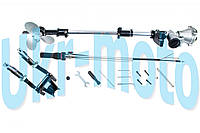 Насадка на мотокосу   (подвесной лодочный руль с винтом, 9T, D-26mm)   MANLE