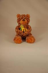 Медведь Топтыжка с пчелой