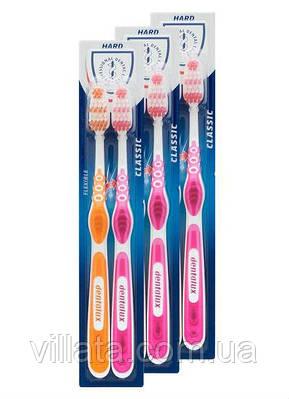 Зубные щетки (жесткие) Dentalux 2 шт. Германия