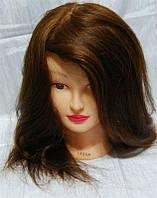 Голова учебная с натуральными волосами 1806A YRE