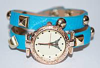 Женские наручные часы с длинным ремешком, женские часы с эйфелевой башней