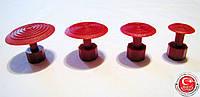 Комплект клеевых грибков SK red round set