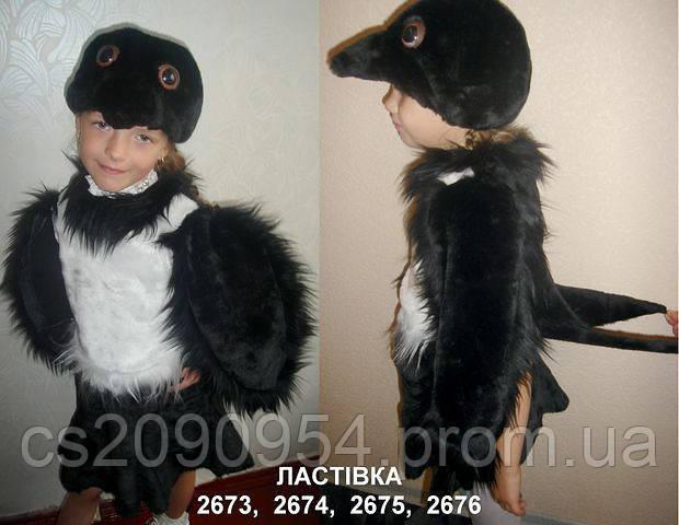 Карнавальный (новогодний) костюм Ласточка для девочки