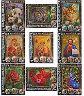 Набор для творчества Алмазная живопись Икона DIAMOND MOSAIC малый ()