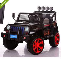 Детский электромобиль джип Sport M 3237EBLR-2-3 черно-красный