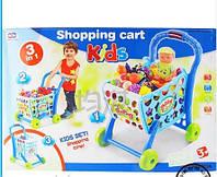 """Игровой набор """"Тележка для супермаркета"""" с продуктами"""