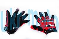 """Перчатки   (mod:2, size:L, красные)   """"ALPINESTARS"""""""