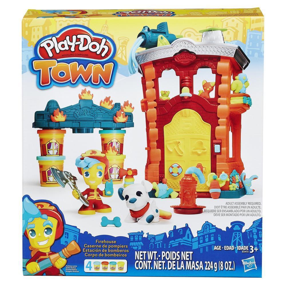 "Набор пластилина Play-Doh Town (Город) ""Пожарная станция"" (B3415)"