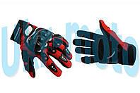 Перчатки   PRO-BIKER   (mod:RQ-01, size:L, красные)