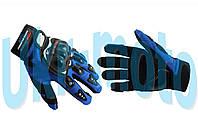 """Перчатки   (mod:RQ-01, size:L, синие)   """"PRO-BIKER"""""""