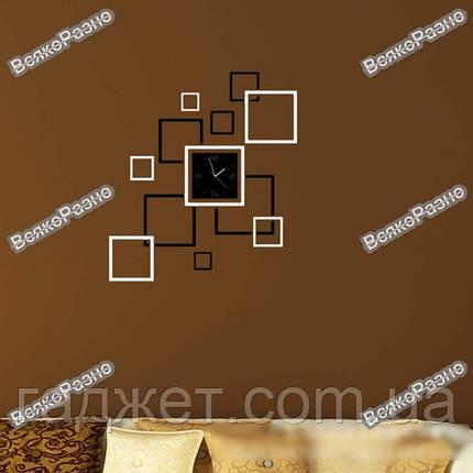Акриловые настенные часы квадраты, фото 2