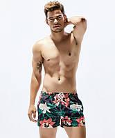 Мужские цветочные шорты Seobean - №2335