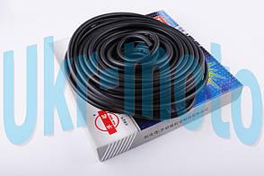 Шланг топливный   Ø4mm, 20 метров   (резиновый, черный)